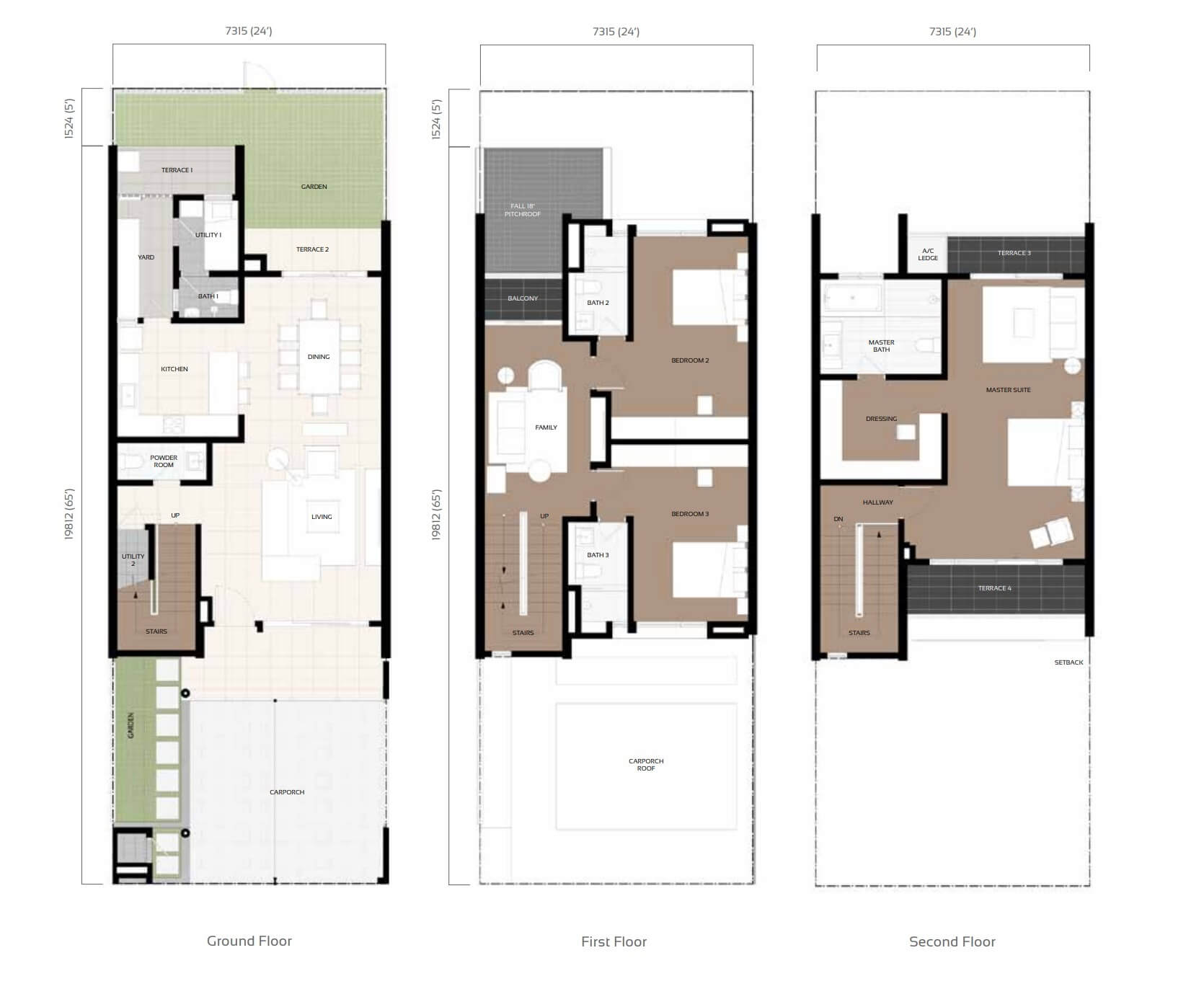 Camelia Type A D Floor Plan